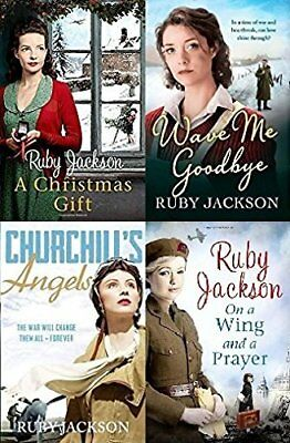 Ruby Jackson - Churchill's Angels Series (4 Book Collection)