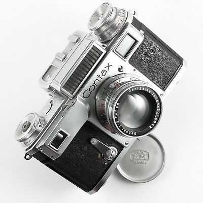 CONTAX III, 1937, 35mm rangefinder camera with Sonnar lens, VERY NICE