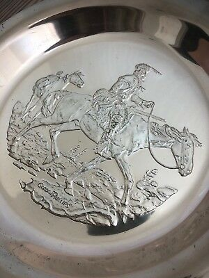 Mountain Man Gordon Phillips 1972 Sterling Silver Limited Edition 2806