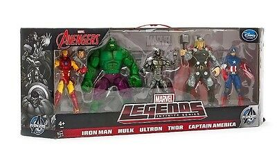 Marvel Infinite Legends Avengers Age of Ultron 5 pack Disney Europe Exclusive