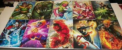 Collection Of 24 Marvel Battle Lines Variant Covers - Marvel Comics/2018