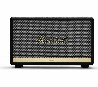 MARSHALL Acton II Bluetooth Speaker - Black - Currys