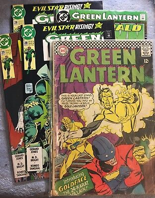 Green Lantern Comic Book Lot DC Comics 8 Issues Total