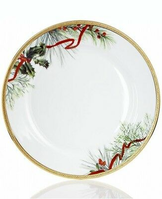 New/Open Stock Charter Club Grand Buffet Holly Berry Dinner Plate.
