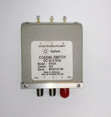 Agilent / HP Coaxial Switch 8762A DC to 4 GHz