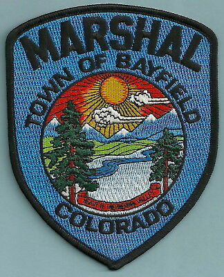 Town Of Bayfield Marshall Colorado Police Patch