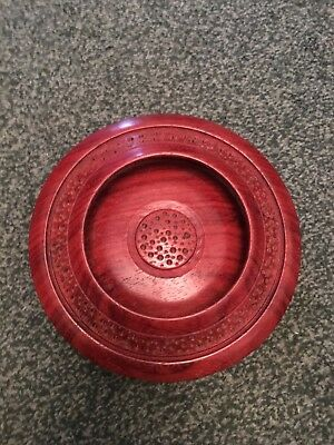 Shallow Wooden Bowl