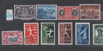 Lithuania   Lot Of Old Stamps #2M