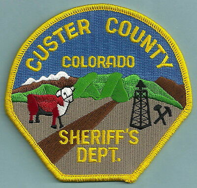 Custer County Sheriffs Department Colorado Police Patch