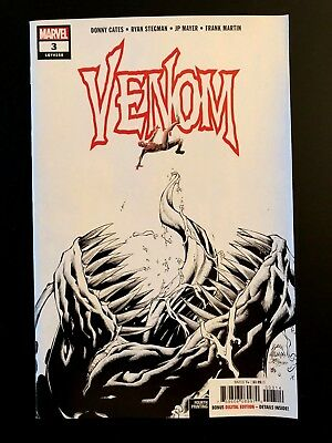VENOM 3 2018 Stegman 4th Print Variant 1st APPEARANCE KNULL Cates Marvel NM+