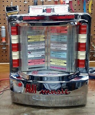 Serial #167693 Collectibles Other Coin-op Collectibles Ami Wallbox Jukebox Model Wq-200 Unrestored With Great Chrome