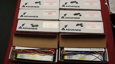 Advance Rapid Start Ballast Lot Of 8 Relb2S40Sc R2S40Tp R2S34Tp In Boxes!