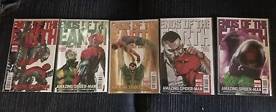 Amazing Spiderman 682-686 Gabrielle Dell'Otto Variant Set Ends Of The Earth