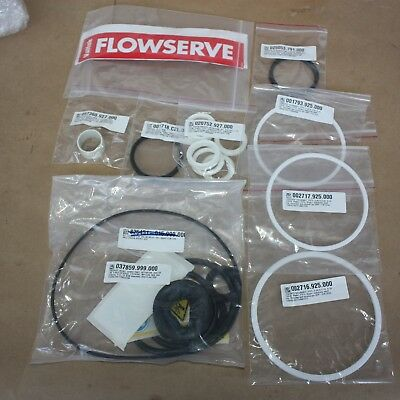 "SPARE PARTS KIT for FLOWSERVE VALTEK Mark1 DN100 4"" Control valve ACTUATOR VL-50"