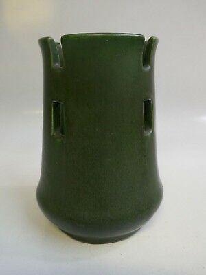 """Arts & Crafts American Made Pottery Matte Green 6.75"""" - Model Number 1251"""