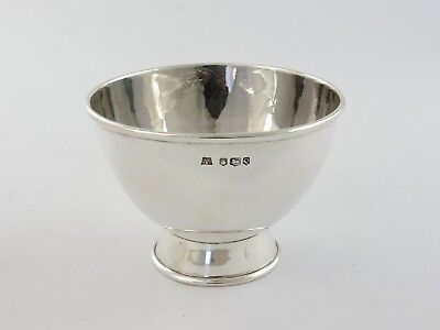 Sheffield College of Arts & Crafts HAND-MADE SILVER BOWL 1958 DISH spot hammered