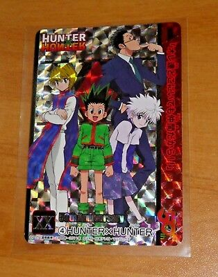 Hunter X Hunter Carddass Rare Special Card Prism Foil Carte 4 Japan Mint Neuf