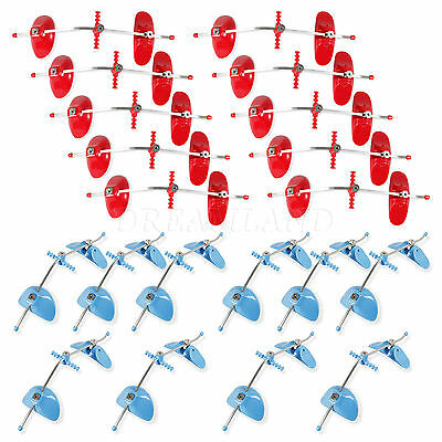 20 Dental orthodontic Face Mask Forward pull Facemask Single Bars Blue Red Color