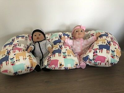 Twin Feeding Pillow - Made To Order