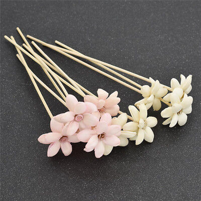5x Flower Reed Diffuser Rattan Refill Sticks Replacements Sticks Aromatherapy