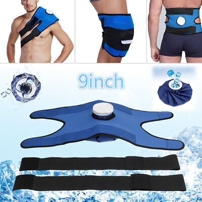 For Knee Shoulder Back Pain Relief Hot Cold Therapy Reusable Ice Bag Pack & Wrap