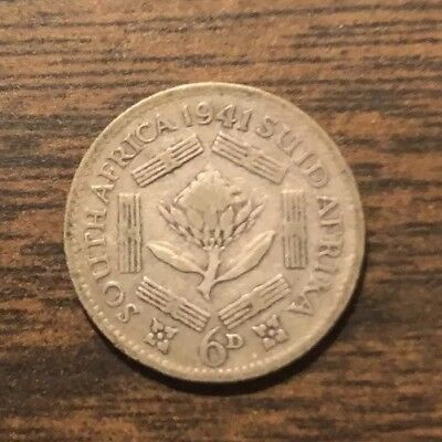 South Africa Silver Coin 1941