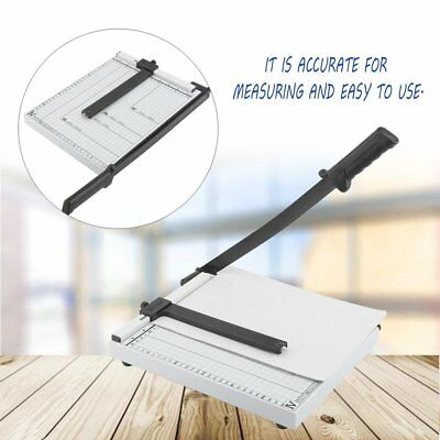 Heavy Duty Pro A4 Paper Guillotine Cutter Trimmer Machine Office Home Tool BR