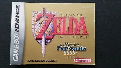 Legend of Zelda: A Link to the Past Manual (Nintendo Game Boy Advance, 2002) GBA