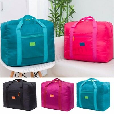 Big Waterproof Foldable Travel Storage Luggage Carryon Organizer Hand Duffle