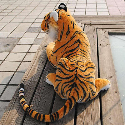Large Giant Artificial Doll Plush Tiger Soft Cuddly Toy Simulation Lifelike