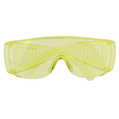 Protective Safety Goggles Glasses Work Eye Protection Spectacles Yellow