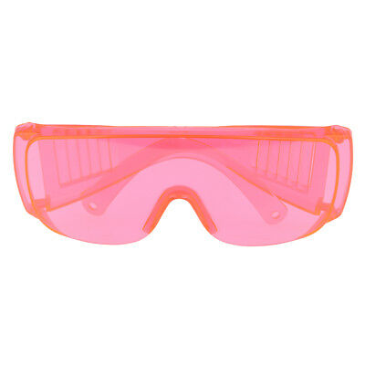 Protective Safety Goggles Glasses Work Eye Protection Spectacles Orange