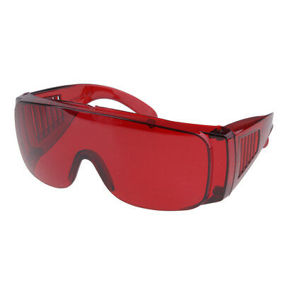 Protective Safety Goggles Glasses Work Eye Protection Spectacles Red