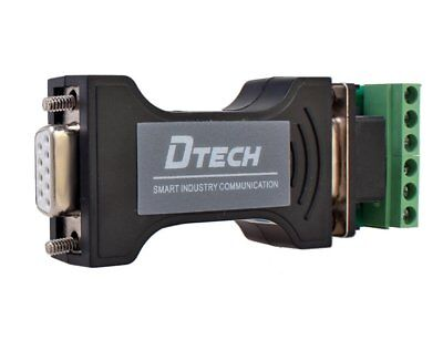 DTECH RS232 to RS485 / RS422 Serial Communication Data Converter Adapter Mini