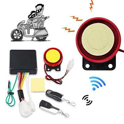 2-Way Motorcycle Security Anti-theft Alarm System Motorbike Engine Start Remote