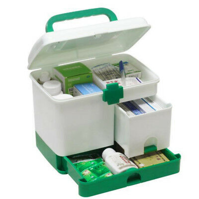 Household Multi-layer First Aid Box Multifunctional Medicine Storage Organizer