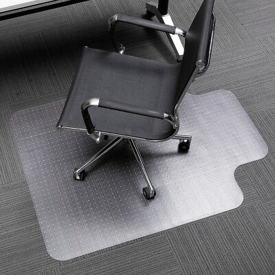 SLYPNOS Translucent Office Chair Mat Carpet Protector Non-Slip 48 x 36 inch