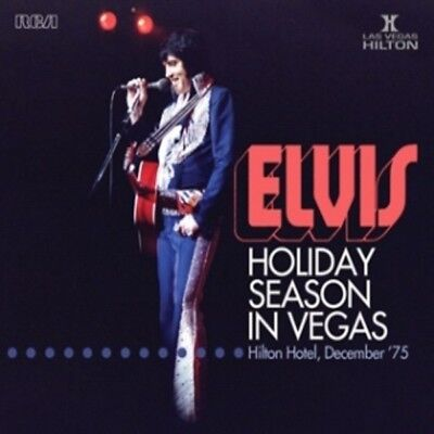 Elvis Presley - HOLIDAY SEASON IN VEGAS - FTD 2x CD - New & Sealed IN STOCK NOW!
