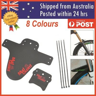 Cycling Mountain Bike Bicycle Front Rear Fender Mudguard Mud Marsh Guard Set