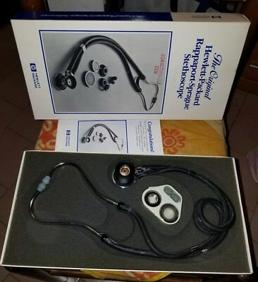 original hewlett-packard Rappaport-Sprague Stethoscope RARE stetoscopio HP