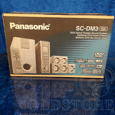 ►Panasonic Sc-Dm3◄ Sistema Home Theatre Con Lettore Dvd Mp3 Cd