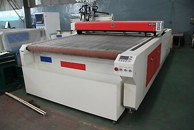 Automatic CNC fabric cutting machine 2000mm 100w laser cutting machine
