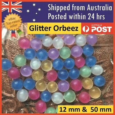 Orbeez Crystal Water Balls Pearls Glitter Jelly Gel Beads Party Giant Orbeez
