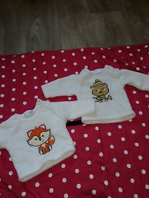 Zwillinge?! -2 Tolle Dicke Pullover Gr.62 Top!!