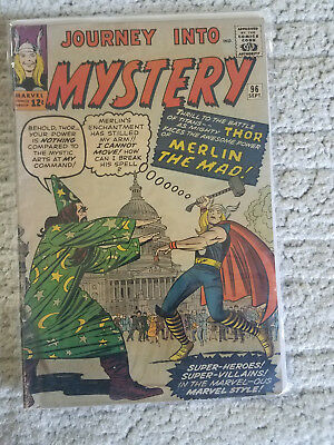 JOURNEY INTO MYSTERY #96 Thor  MERLIN