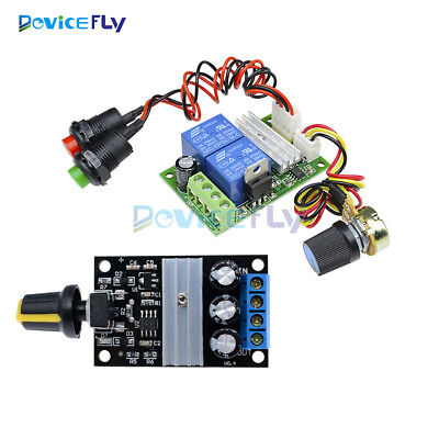 3A DC Motor Speed Control Switch PWM Regulator Reversible Controller Module