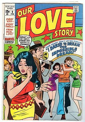 Our Love Story #9, Very Good - Fine Condition