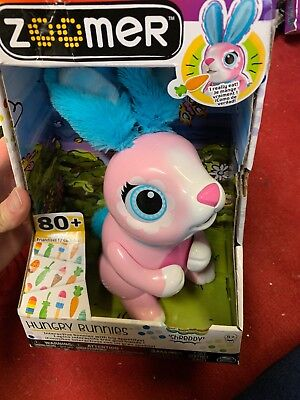 Zoomer Zupps Hungry Bunnies - SHREDDY - Brand New