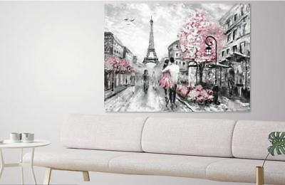 PAINTING WATERCOLOR wall art colorful premium Canvas Australian made home decor