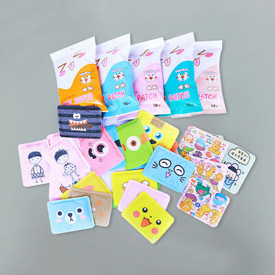 10 pcs Self-heating Warm-up Stickers Hot Compress Warm Treasure Stickers -WE68